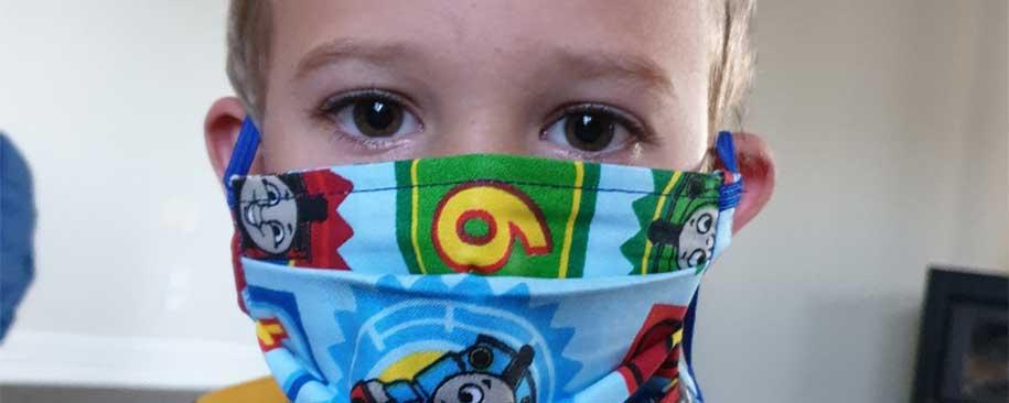 Thomas Online DIY Kids Face Mask