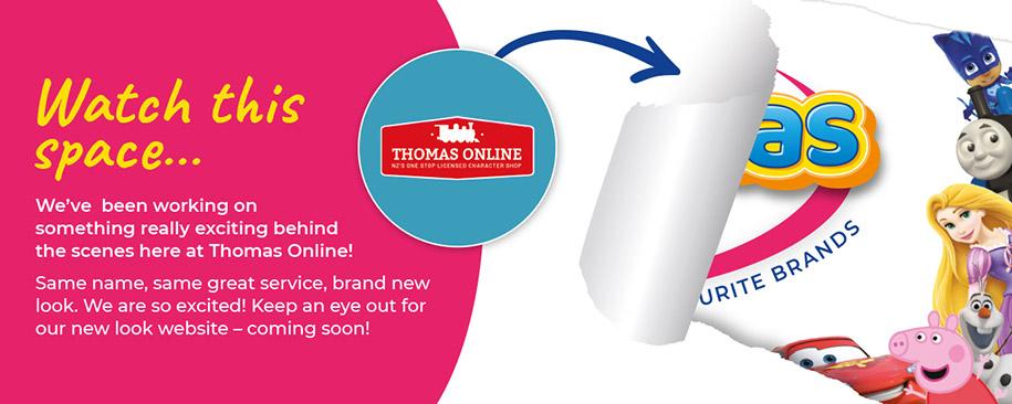 Thomas Online Rebrand